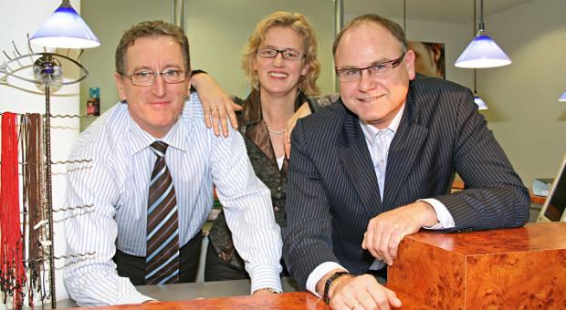 Das Team von Optik Eckert in Olpe am Biggesee